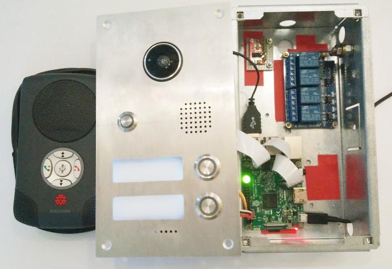 VoIP Video Türsprechanlage mit dem Raspberry und DoorPI